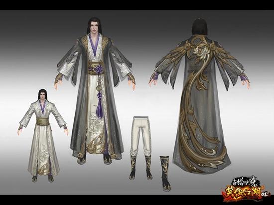 古风江湖服装设计图